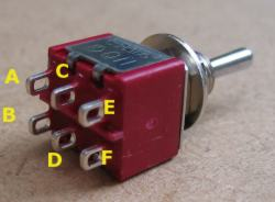 DPDT selector switch.