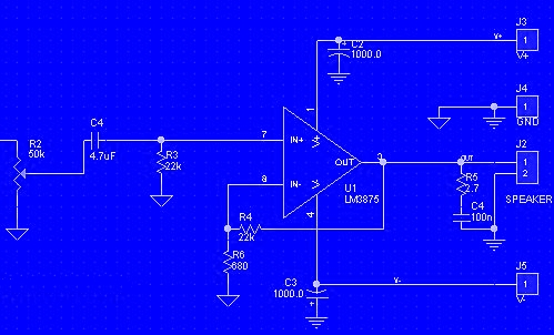Non-inverted Gainclone circuit.